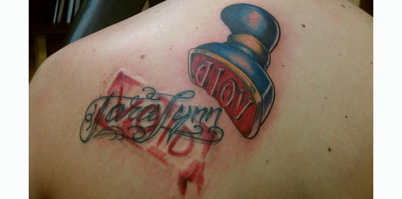 30 Incredible Ideas to Cover-up Name Tattoos of your Ex 9