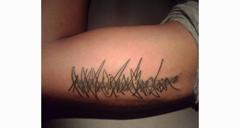 30 Incredible Ideas to Cover-up Name Tattoos of your Ex 3