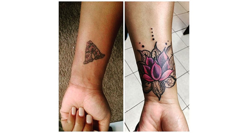 30 Incredible Ideas to Cover-up Name Tattoos of your Ex 19