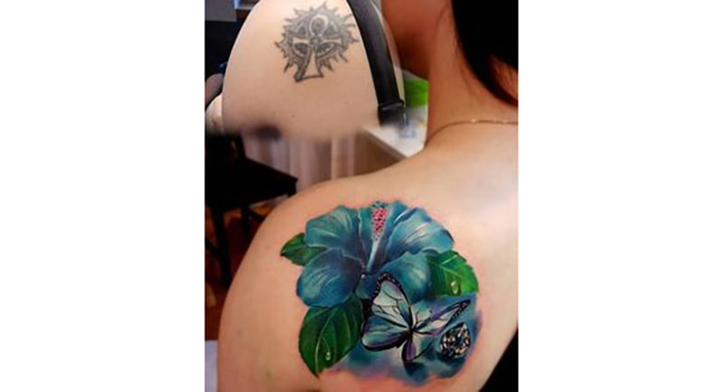 30 Incredible Ideas to Cover-up Name Tattoos of your Ex 22