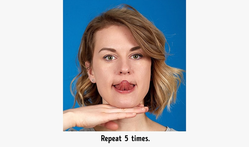 Best Exercises to Reduce a Double Chin 2