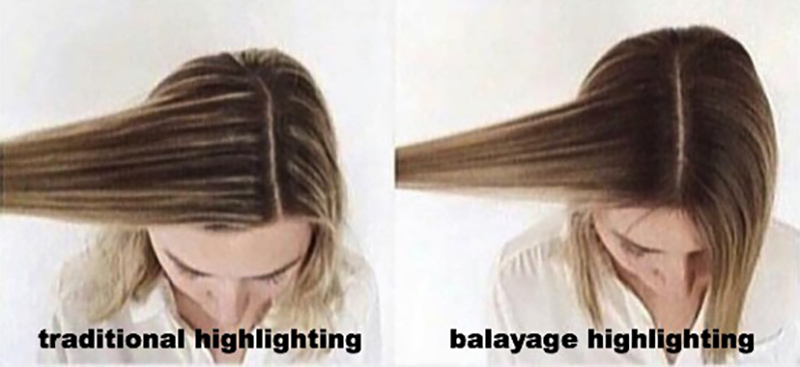 What is the difference between Foil Highlights and Balayage Highlights? 2