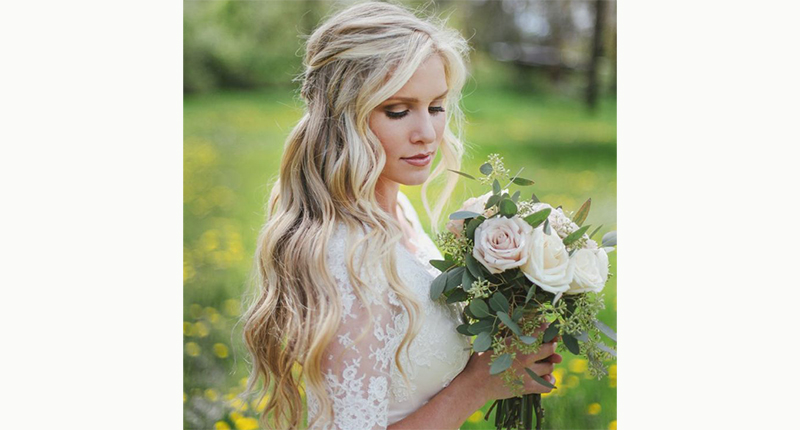 Wedding Hairstyles For Long Hair Down 4