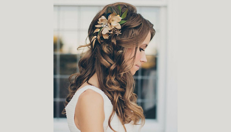 Wedding Hairstyles for Long Hair Down 3