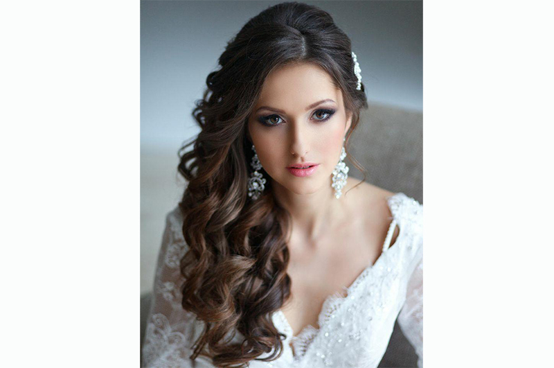 Wedding Hairstyles for Long Hair Down 5