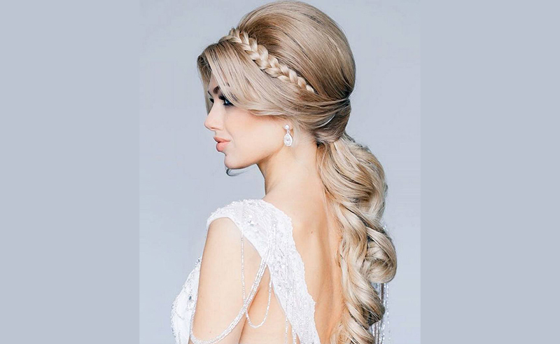 Wedding Hairstyles for Long Hair Down 9