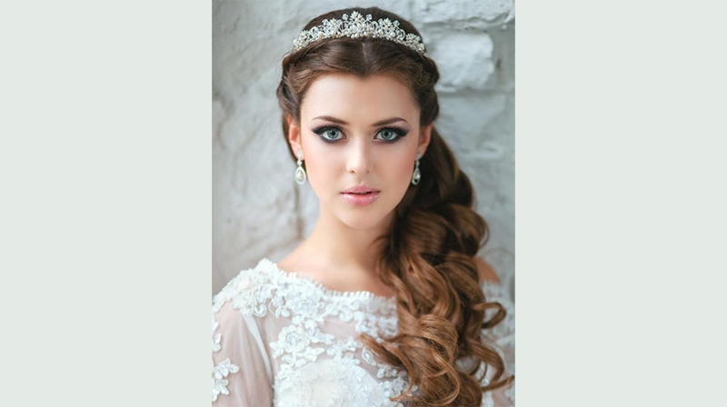 Wedding Hairstyles for Long Hair Down 7