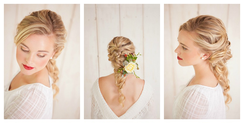 Wedding Hairstyles for Long Hair Down 10