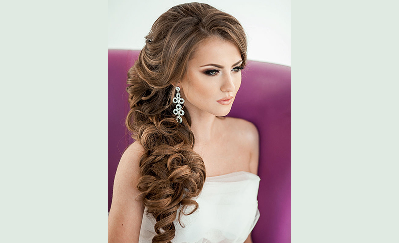Wedding Hairstyles for Long Hair Down 8