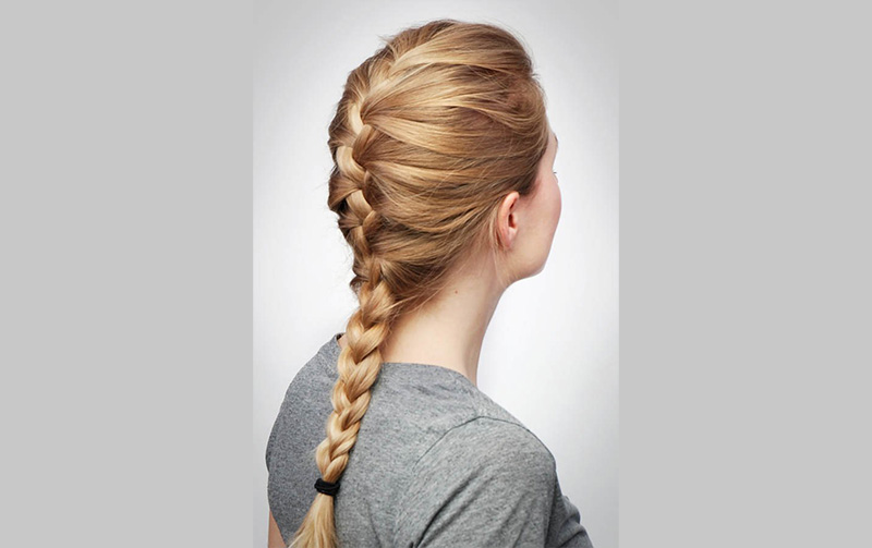How To Do French Braids Quickly Upsmash