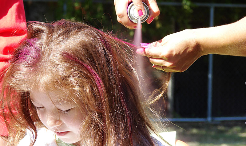 Awesome DIY Hair Chalk Ideas for Stunning Look 6