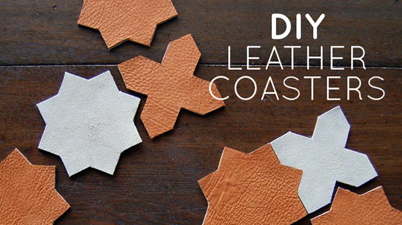 25 Surprisingly Easy DIY Leather Craft Ideas 17