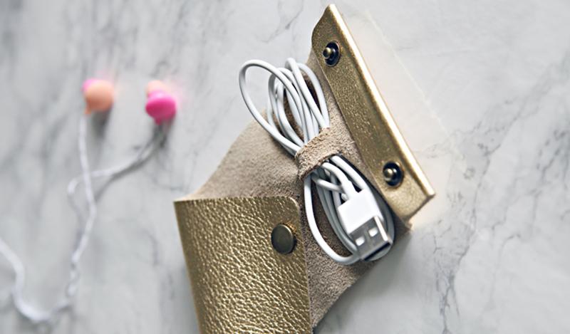 25 Surprisingly Easy DIY Leather Craft Ideas 22