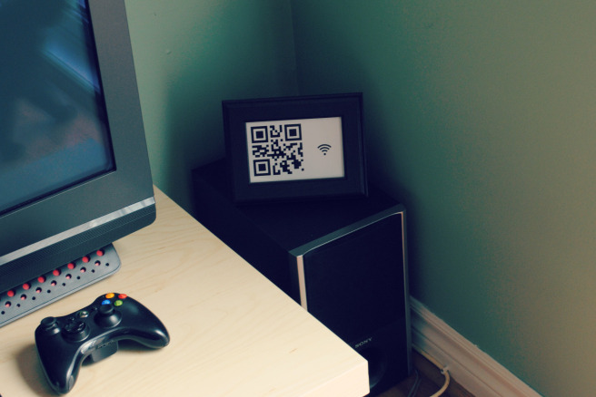 QR code for Wi-Fi