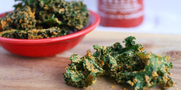 Baked, Kale Chips