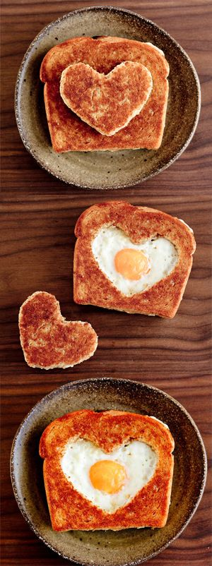 Bread and egg surprise