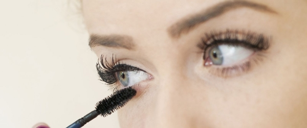 Instant look enhancer, Mascara