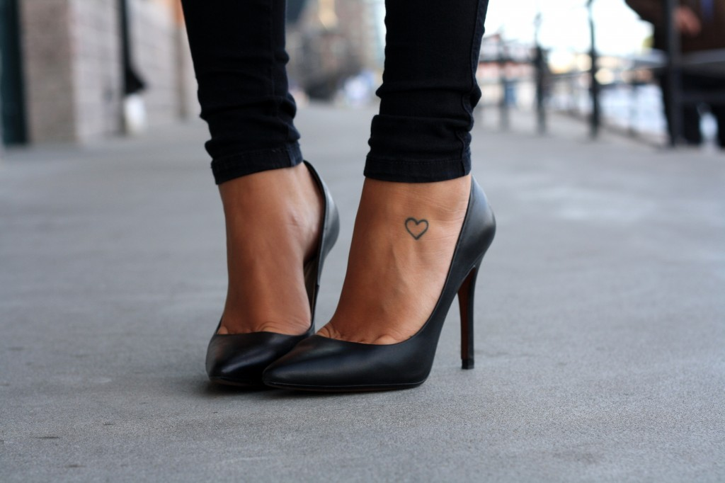 First up, killer black pumps