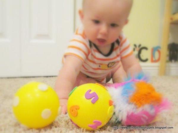 DIY Sensory balls