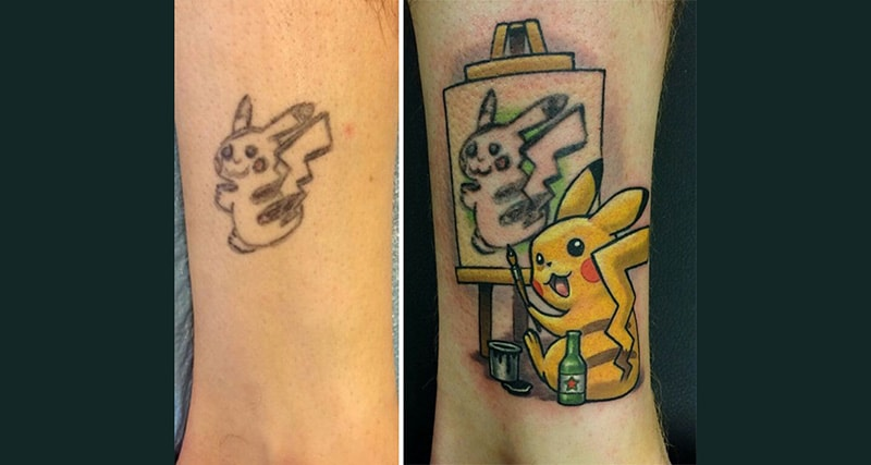 30 Incredible Ideas to Cover-up Name Tattoos of your Ex 1