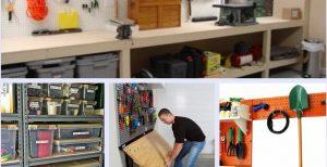 20 Amazing DIY Ideas About Garage Storage and Organization