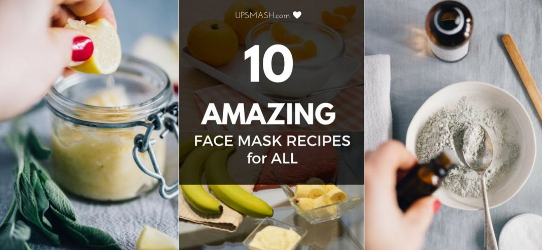 10 Amazing DIY Face Mask Recipes for all Types of Skin