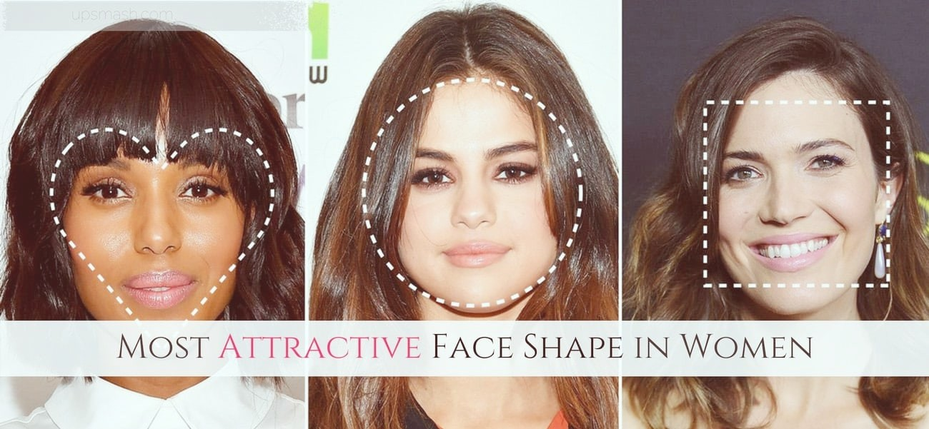 Most attractive face shape female
