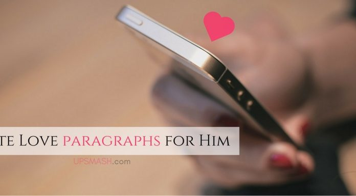 50 Cute Love Paragraphs for Him
