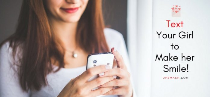 25 Cute Things to Text Your Girlfriend to Make her Smile