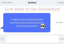 30 Cute Ways to Say Goodnight