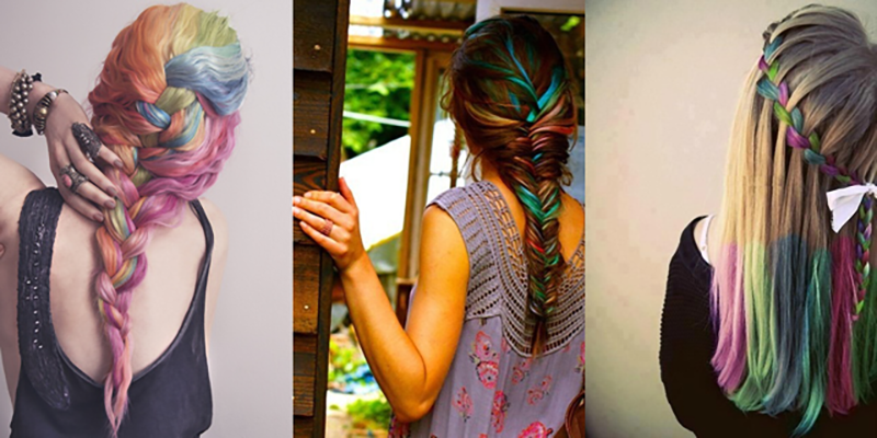 Awesome DIY Hair Chalk Ideas for Stunning Look 4