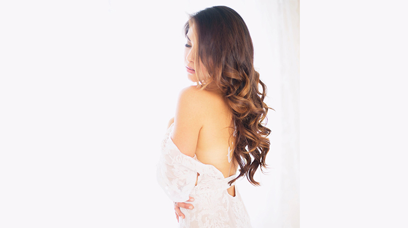Wedding Hairstyles for Long Hair Down 1