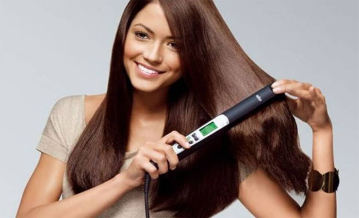 Avoid excess use of straightener