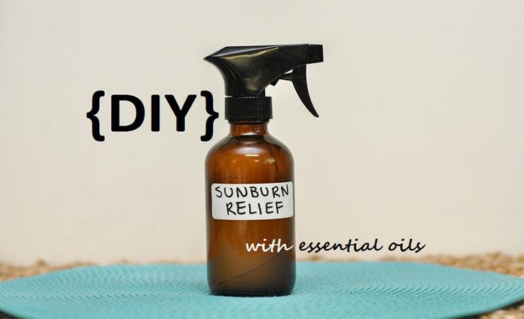 DIY Sunburn Relief Spray